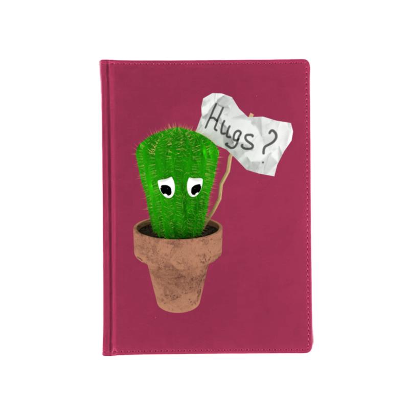 Printio Ежедневник недатированный Милый кактус