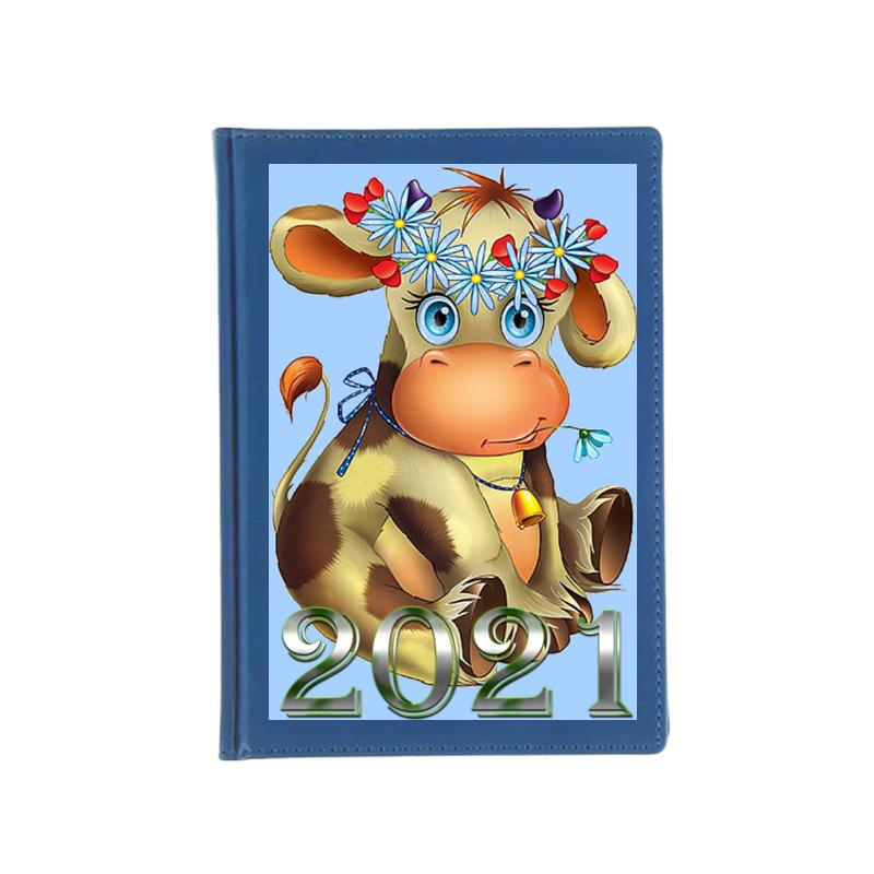 Printio Ежедневник недатированный Год быка