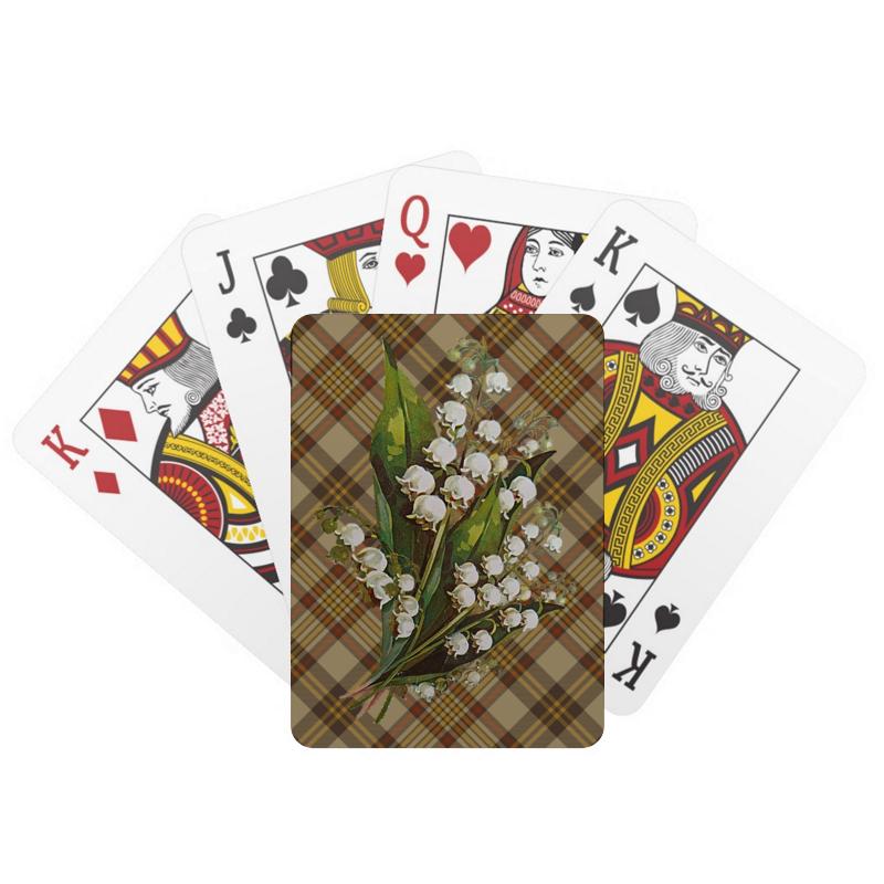 Printio Игральные карты Цветок.