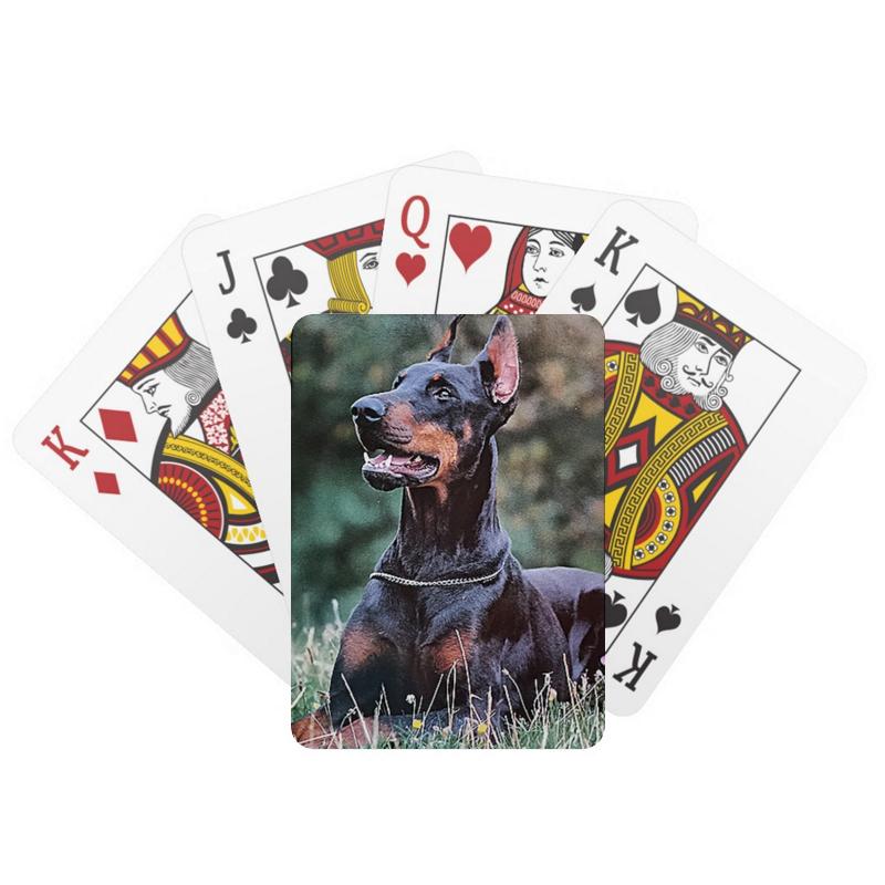 Printio Игральные карты Тем кто любит собак.