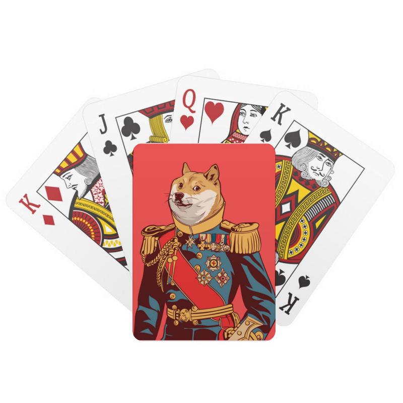 Printio Игральные карты Doge