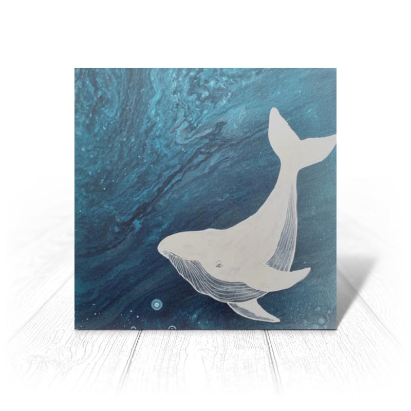 Фото - Printio Открытка 15x15 см Мистер кит printio открытка 15x15 см лев тотем