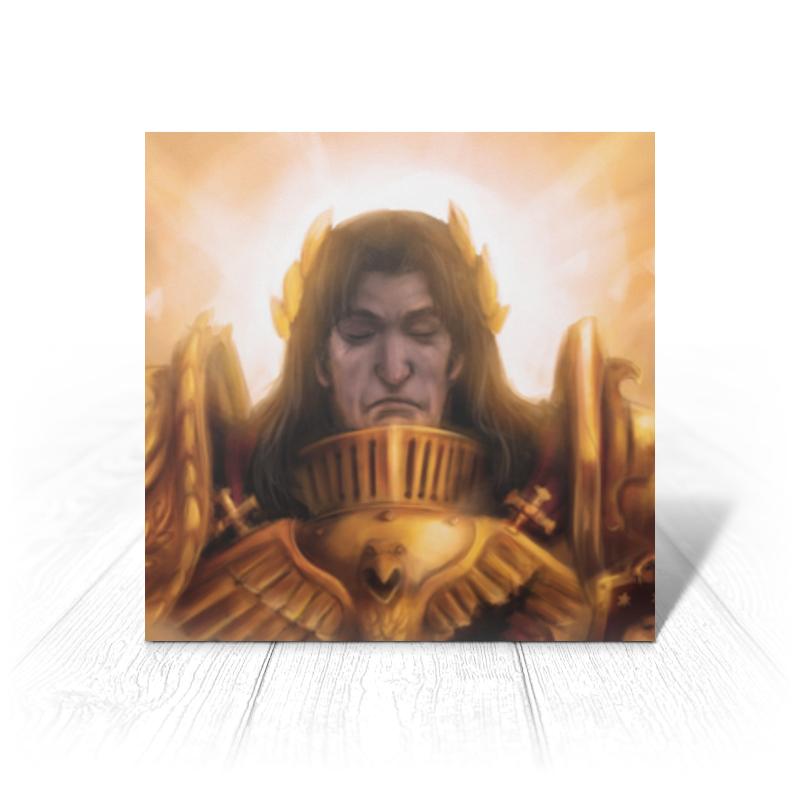 Фото - Printio Открытка 15x15 см Император человечества printio открытка 15x15 см лев тотем