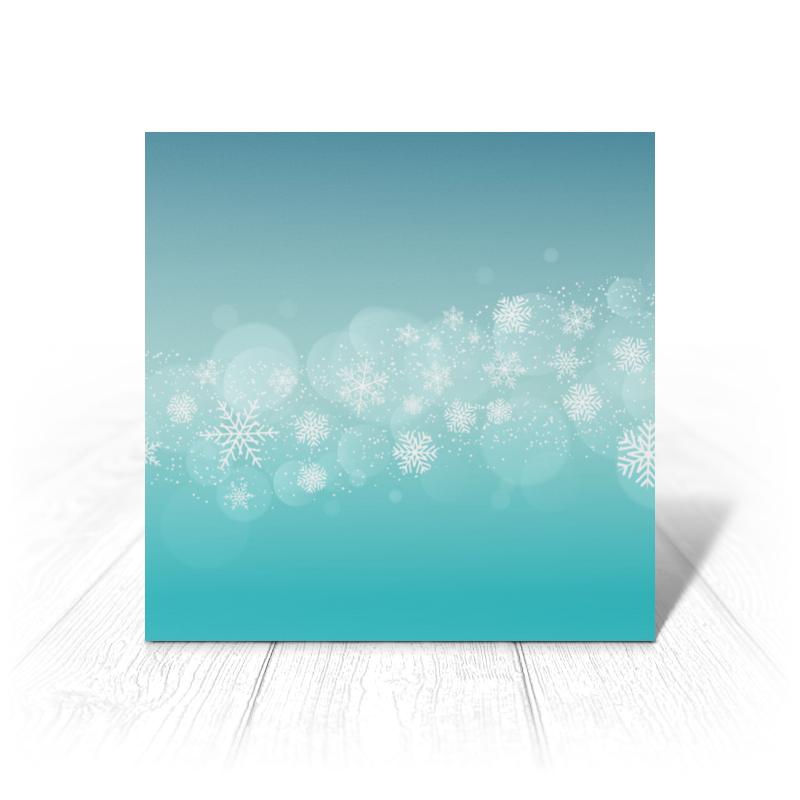 Printio Открытка 15x15 см Новогодняя