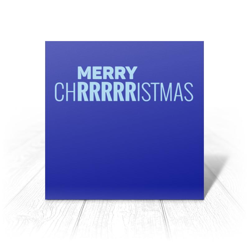 Printio Открытка 15x15 см Merry christmas printio открытка 15x15 см санта