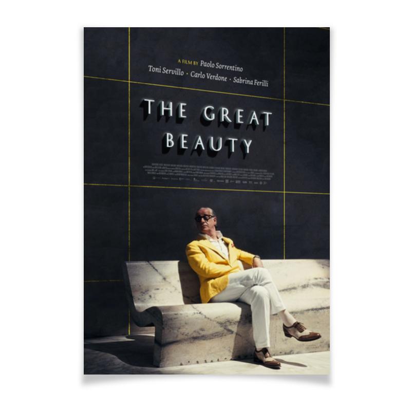 Printio Плакат A3(29.7×42) Великая красота / the great beauty