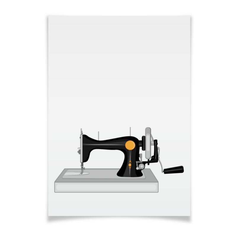 Printio Плакат A3(29.7×42) Старая швейная машина с ручным приводом