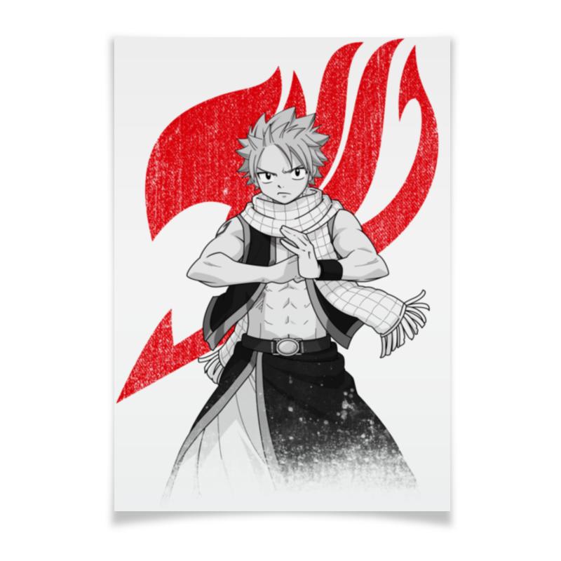 Printio Плакат A3(29.7×42) Нацу. fairy tail нацу fairy tail