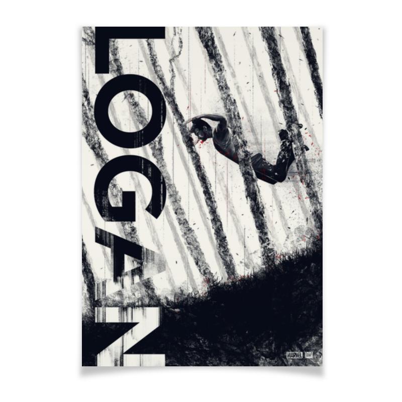 Printio Плакат A3(29.7×42) Логан / росомаха / wolverine