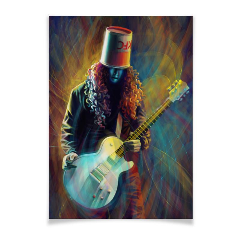 Printio Плакат A3(29.7×42) Buckethead - бакетхед