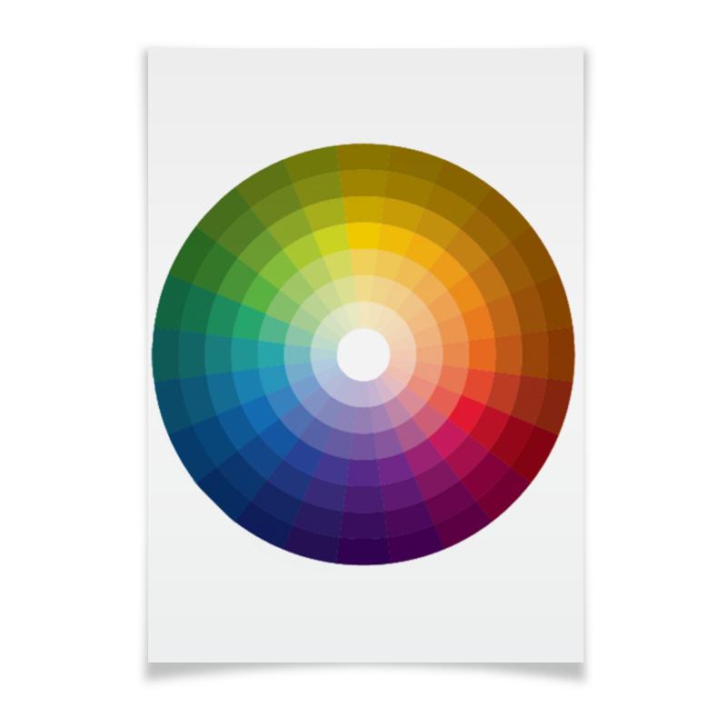 Printio Плакат A3(29.7×42) Цветовой круг printio плакат a3 29 7×42 хаос