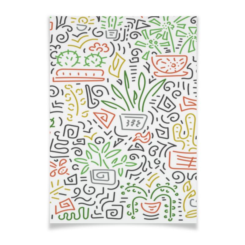 Printio Плакат A3(29.7×42) Комнатные цветы