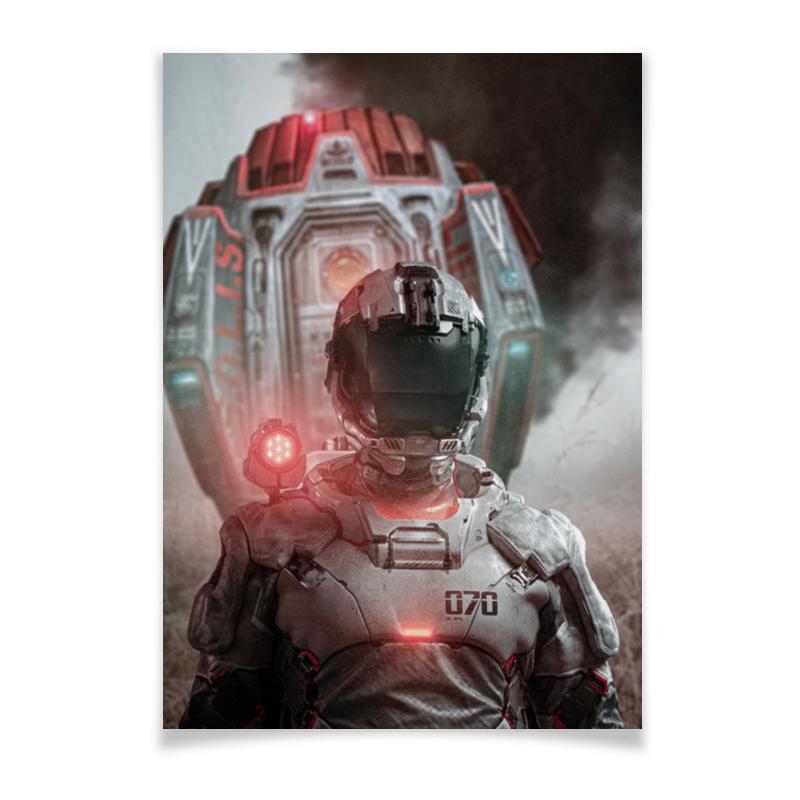 Printio Плакат A3(29.7×42) Future incident