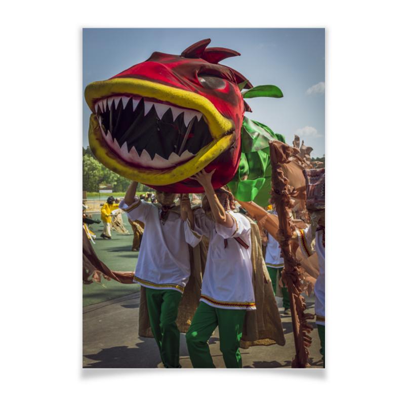 Фото - Printio Плакат A3(29.7×42) Дракон крылатый змей