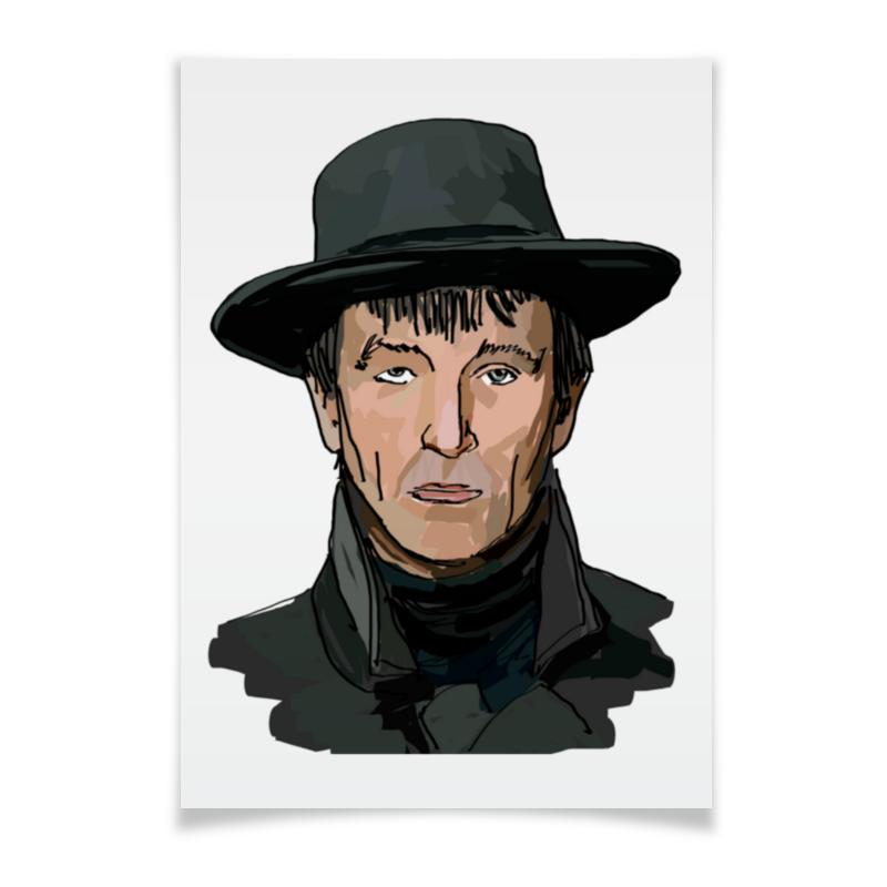 Printio Плакат A3(29.7×42) Саша соколов | художник анна неизвестнова