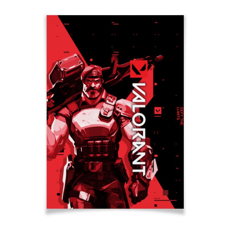 Printio Плакат A3(29.7×42) Valorant brimstone