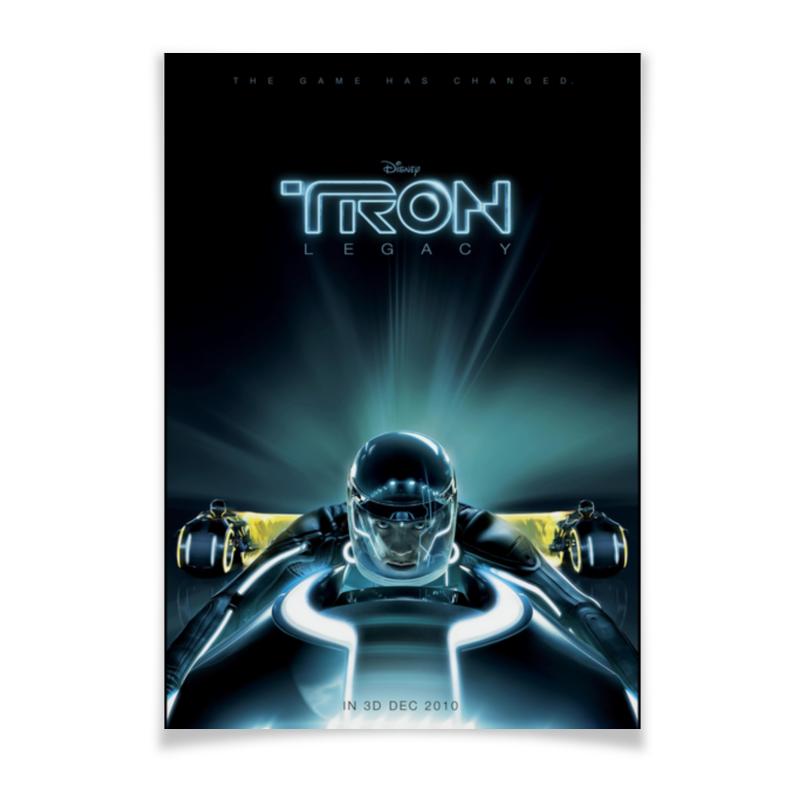Printio Плакат A3(29.7×42) Трон: наследие / tron