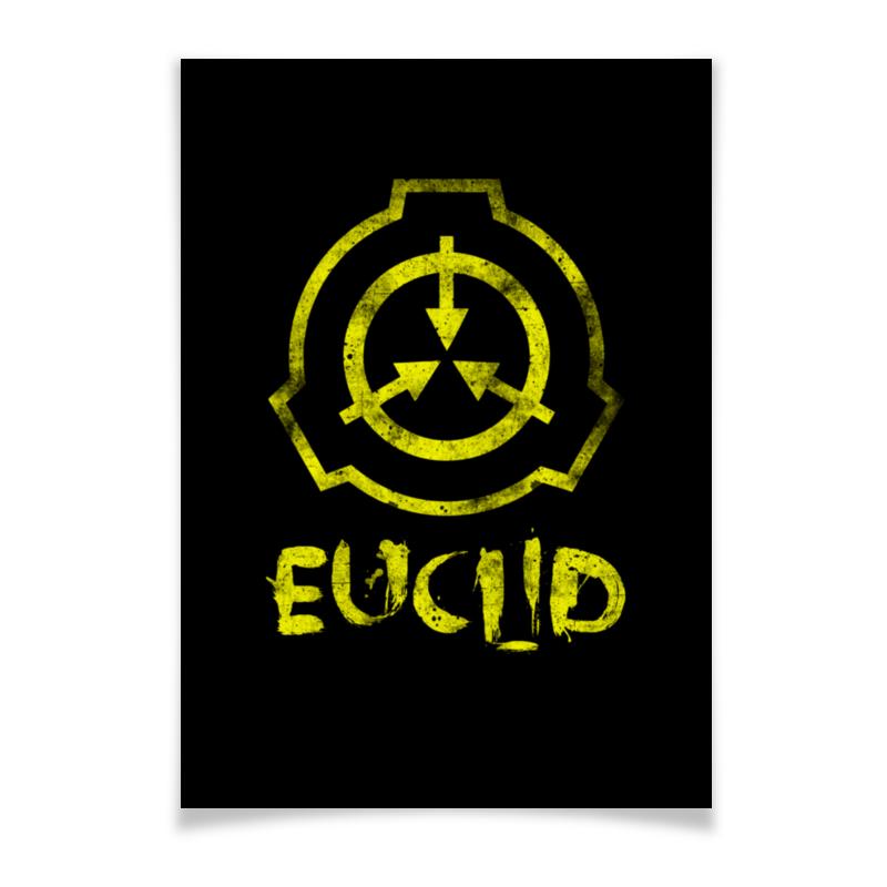 Printio Плакат A3(29.7×42) Scp, euclid printio плакат a3 29 7×42 scp euclid