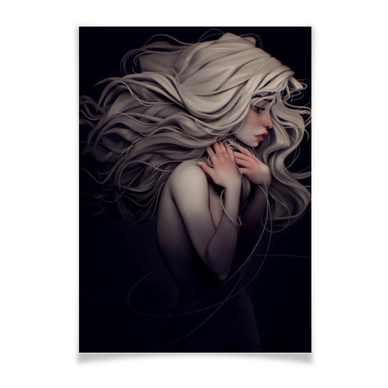 Printio Плакат A3(29.7×42) Девушка-призрак printio плакат a3 29 7×42 хаос