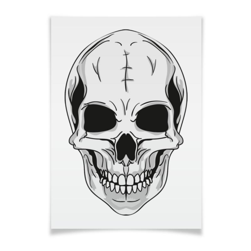 Printio Плакат A3(29.7×42) Череп printio плакат a3 29 7×42 хаос
