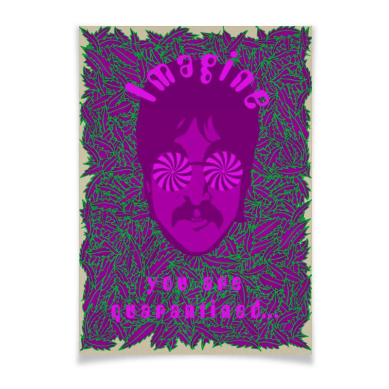Printio Плакат A3(29.7×42) «представь, что ты на карантине...»