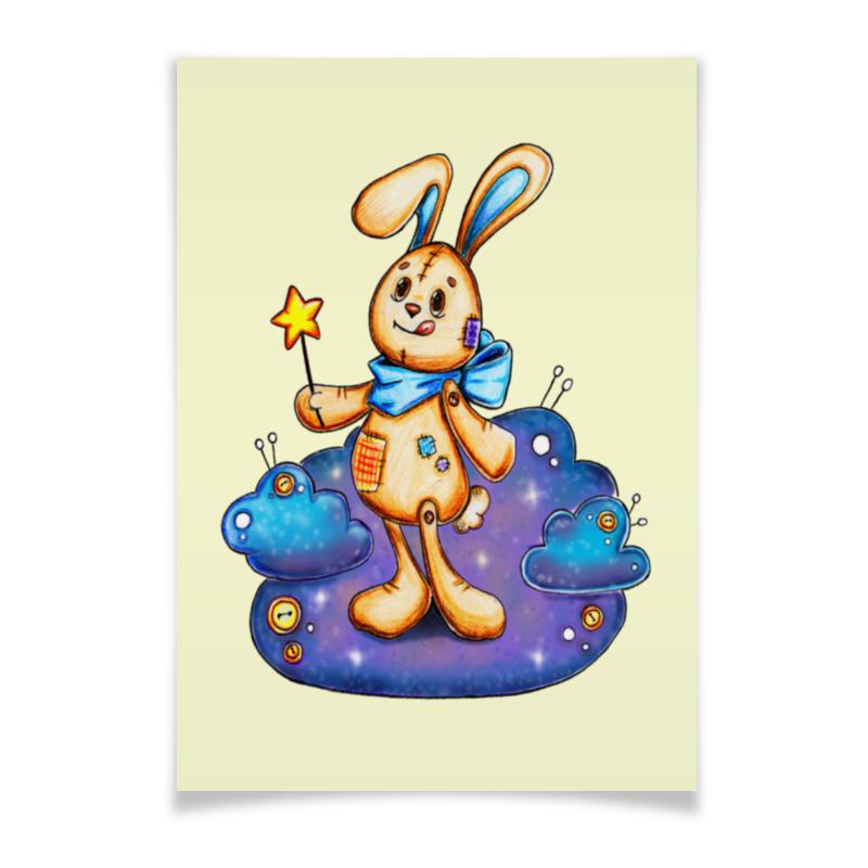 Printio Плакат A3(29.7×42) Зайка волшебник