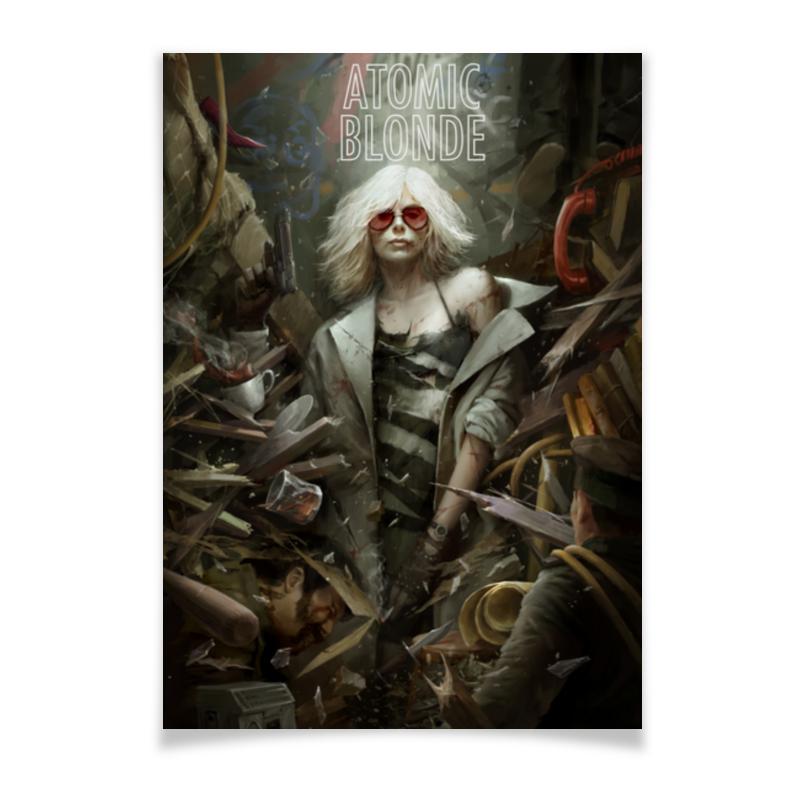 Printio Плакат A3(29.7×42) Взрывная блондинка / atomic blonde