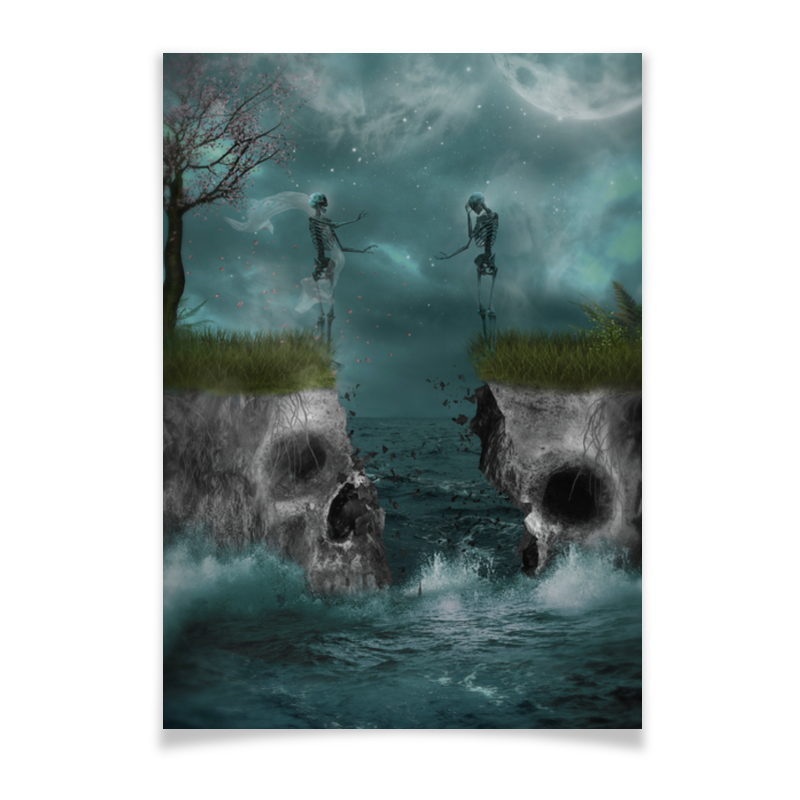 Printio Плакат A3(29.7×42) Dark art