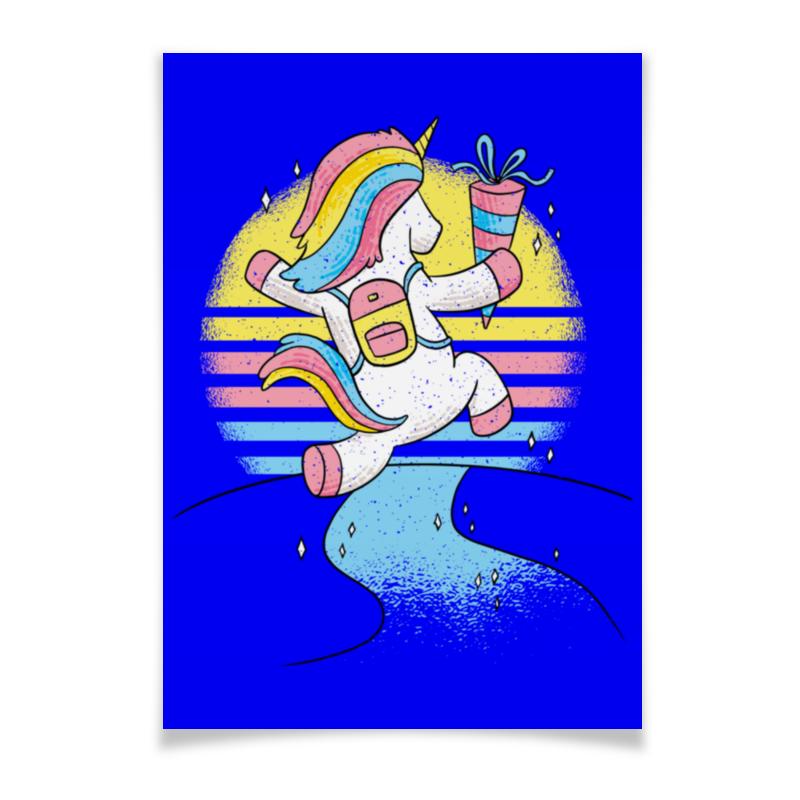 Printio Плакат A3(29.7×42) Happy unicorn