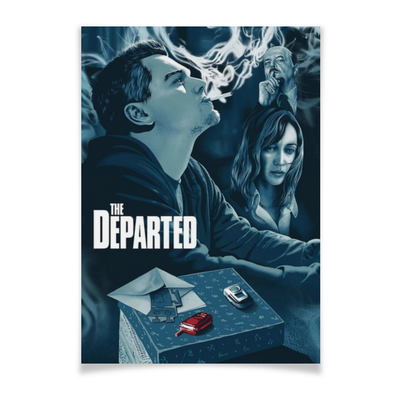 Printio Плакат A3(29.7×42) Отступники / the departed