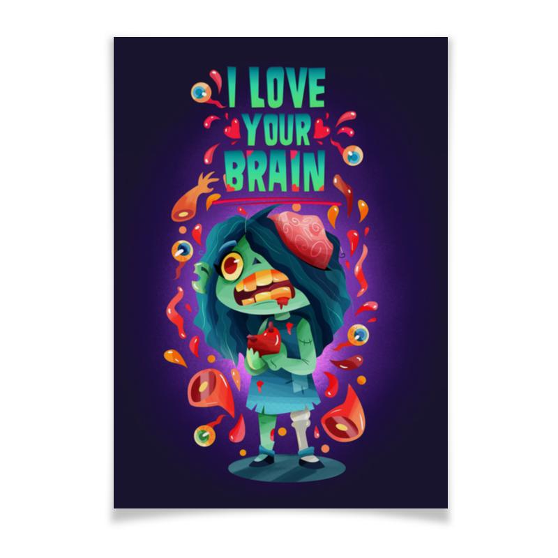 Printio Плакат A3(29.7×42) Милашка зомби