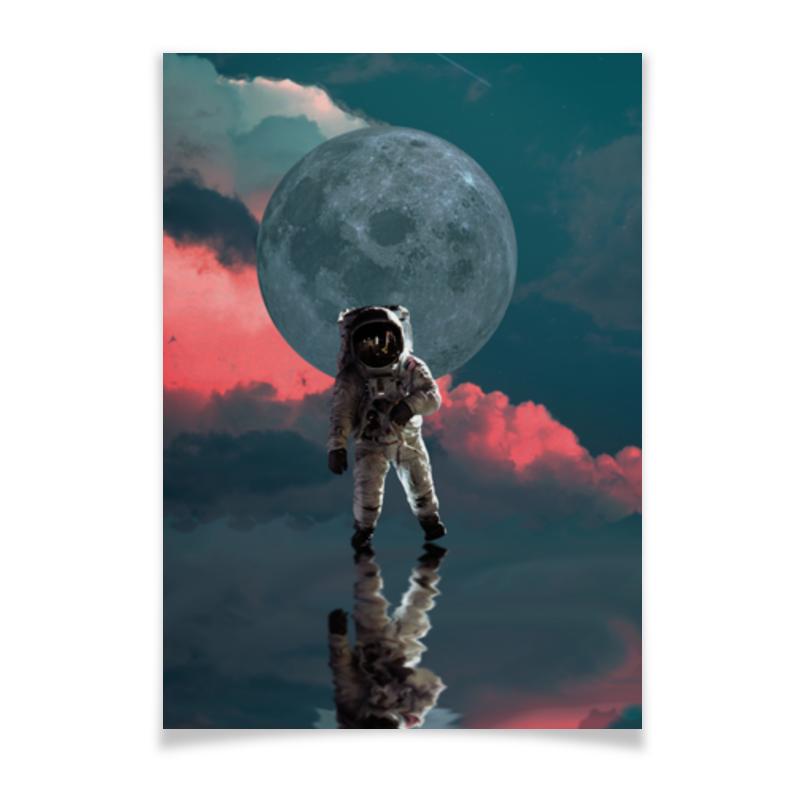 Printio Плакат A2(42×59) Космонавт астронавт printio плакат a2 42×59 космонавт