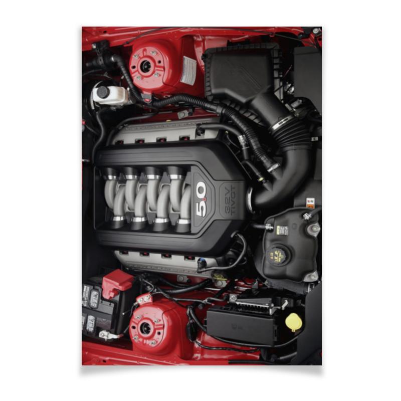 Фото - Printio Плакат A2(42×59) Coyote 5.0 jim smart ford coyote engines