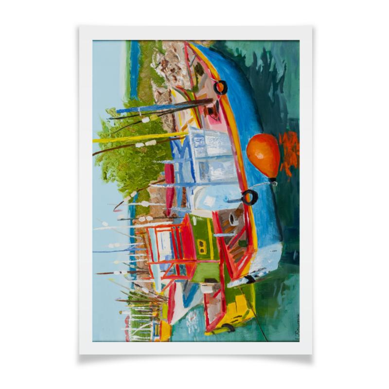 Printio Плакат A2(42×59) Рыбацкие лодки в мирисе
