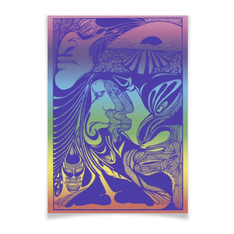 Printio Плакат A2(42×59) «фантазии изобретений»