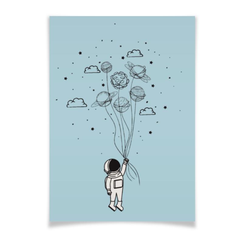 Printio Плакат A2(42×59) Космонавт printio плакат a2 42×59 космонавт