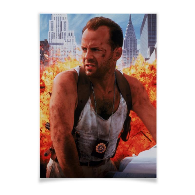 Printio Плакат A2(42×59) Брюс уиллис плакат 90-е