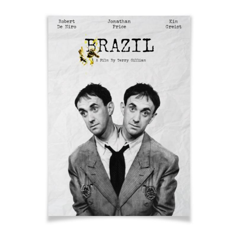 Printio Плакат A2(42×59) Бразилия / brazil