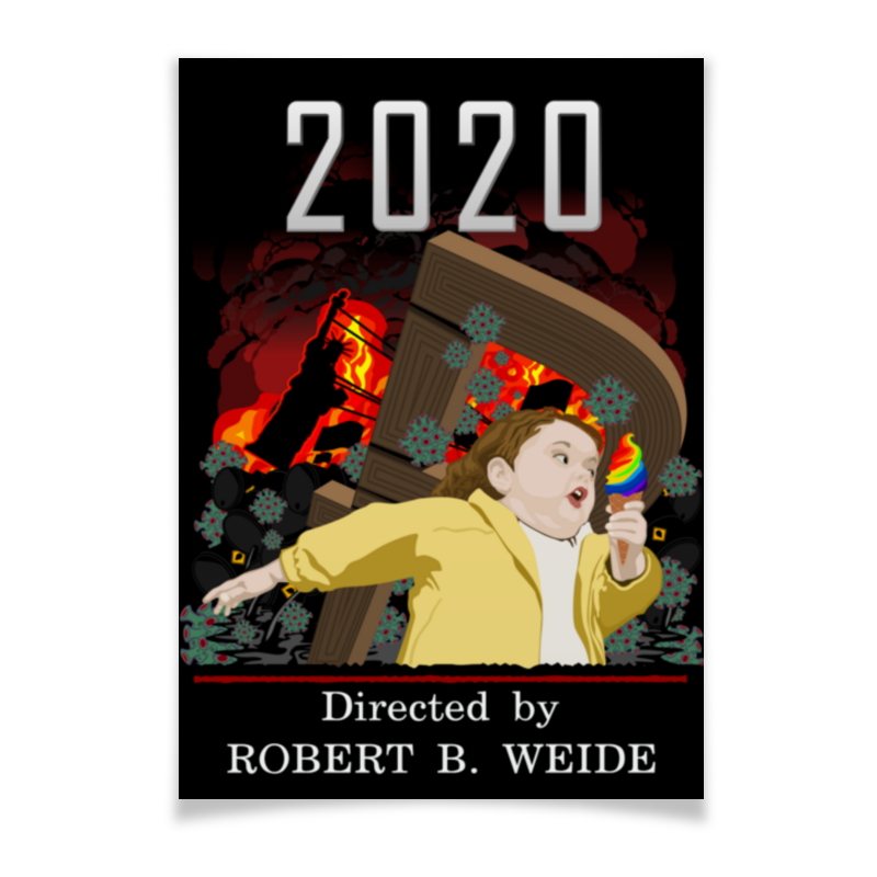 Printio Плакат A2(42×59) 2020 год-катастрофа