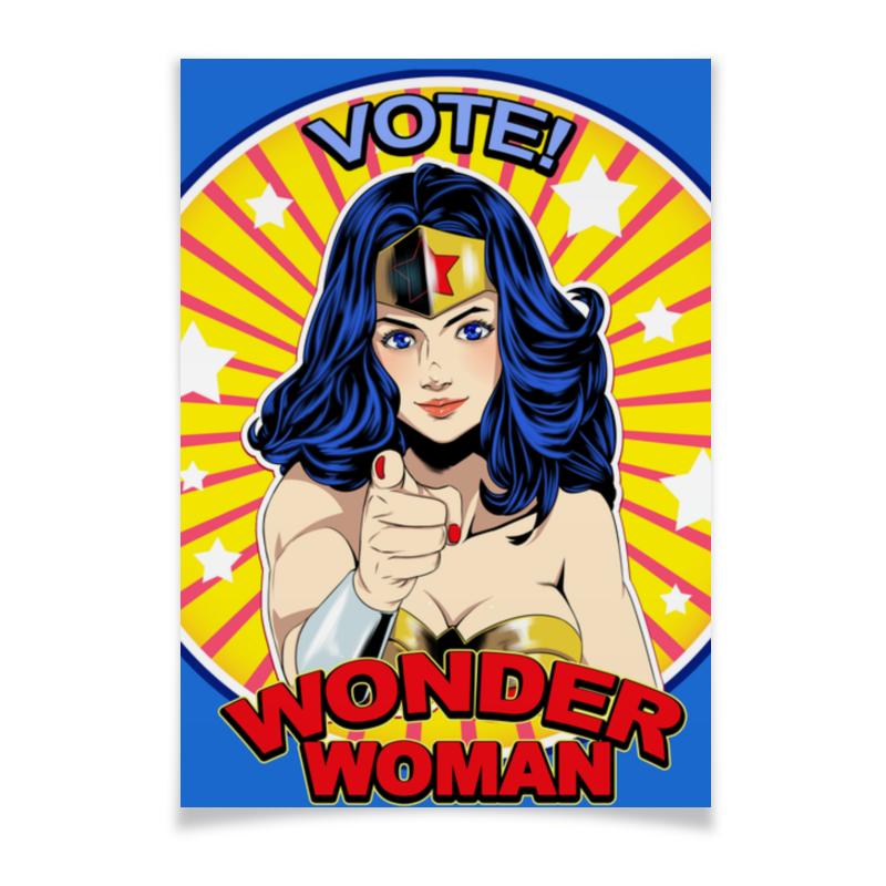 Printio Плакат A2(42×59) Wonder woman printio плакат a2 42×59 wonder woman
