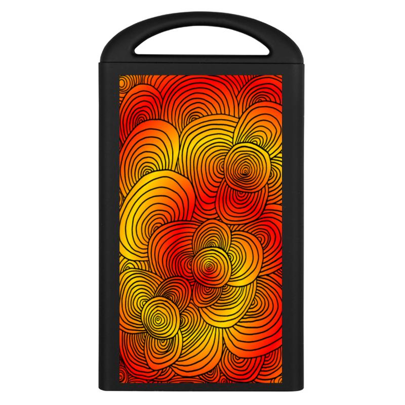 Фото - Printio Внешний аккумулятор Абстракция оранжевое настроение printio рюкзак 3d абстракция асфальт