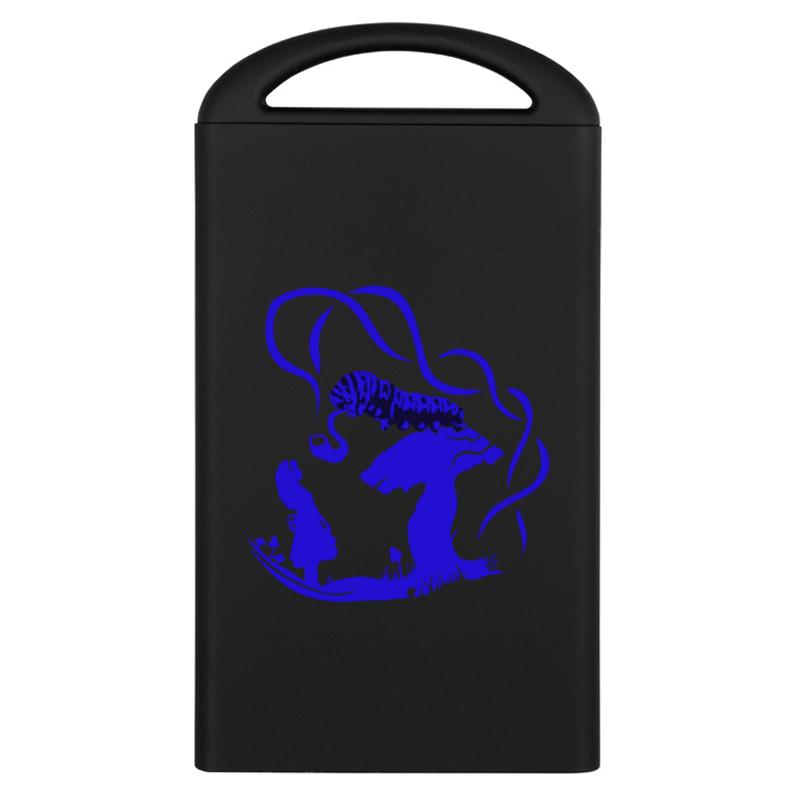 Printio Внешний аккумулятор Синяя гусеница аккумулятор