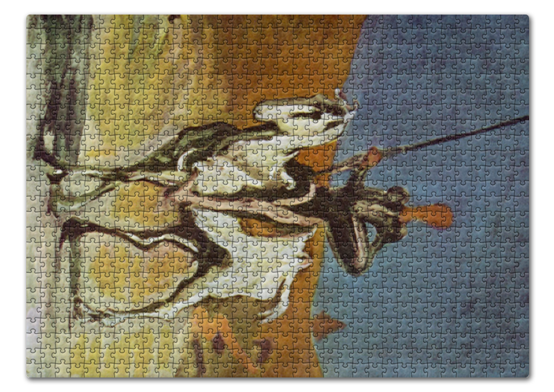 Printio Пазл 43.5×31.4 см (408 элементов) Дон кихот (картина оноре домье) printio чехол для iphone 8 plus объёмная печать дон кихот картина оноре домье