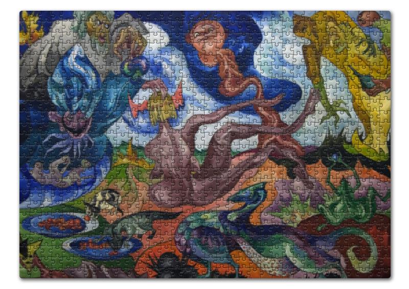 Printio Пазл 43.5×31.4 см (408 элементов) Создание мира (станислав виткевич)