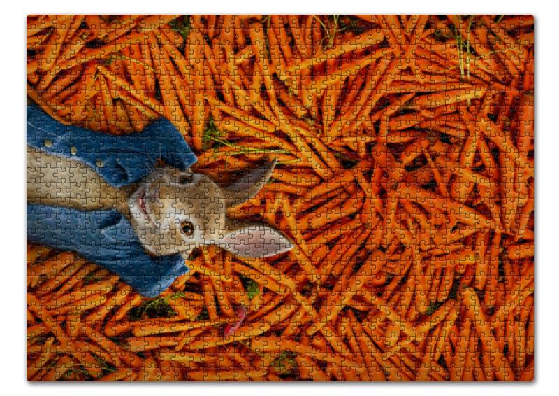 Printio Пазл 43.5×31.4 см (408 элементов) Кролик питер printio пазл 43 5×31 4 см 408 элементов охотники на снегу питер брейгель старший