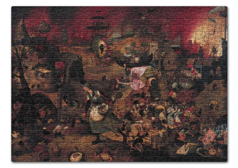 Printio Пазл 43.5×31.4 см (408 элементов) Безумная грета (питер брейгель (старший))