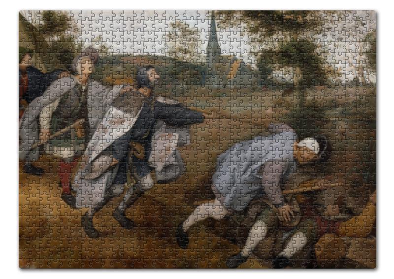 Printio Пазл 43.5×31.4 см (408 элементов) Притча о слепых (питер брейгель старший) printio пазл 43 5×31 4 см 408 элементов охотники на снегу питер брейгель старший