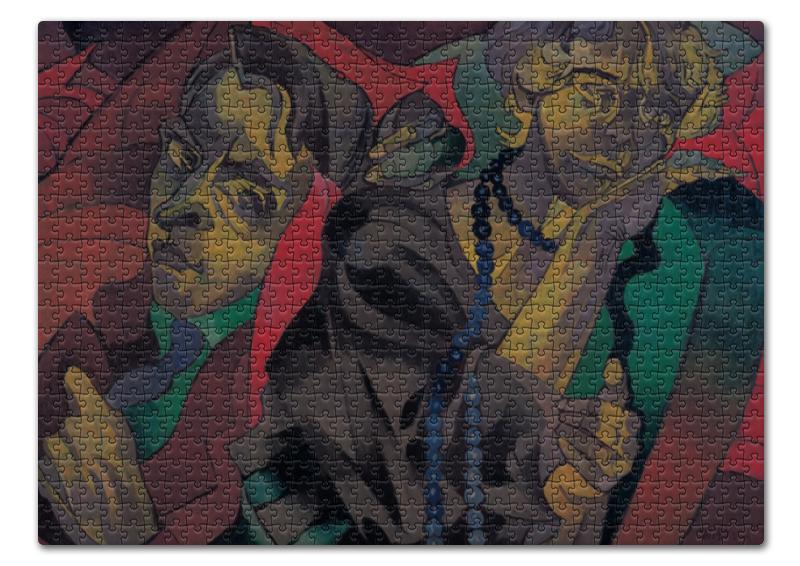 Printio Пазл 43.5×31.4 см (408 элементов) Две головы (станислав виткевич)