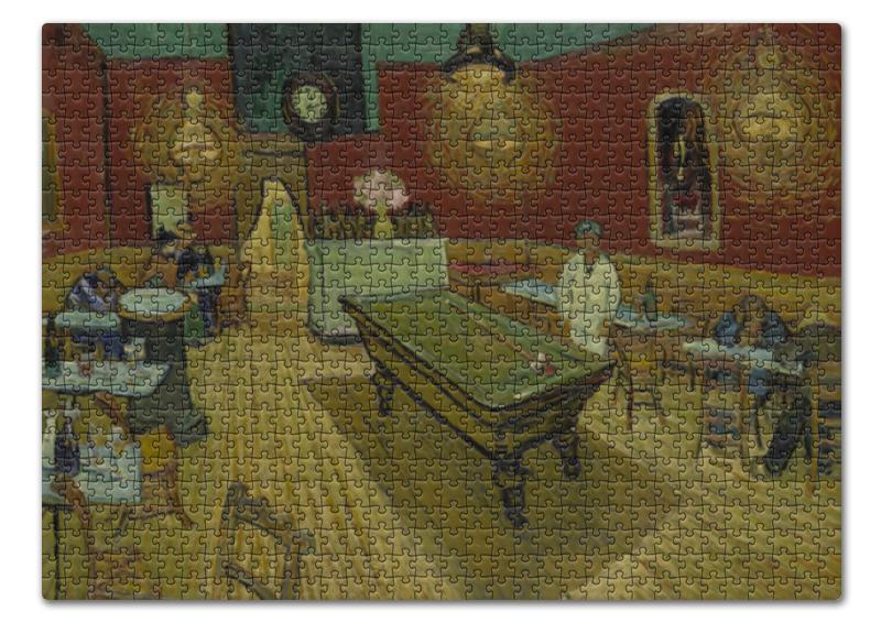 Printio Пазл 43.5×31.4 см (408 элементов) Ночное кафе ( винсент ван гог)