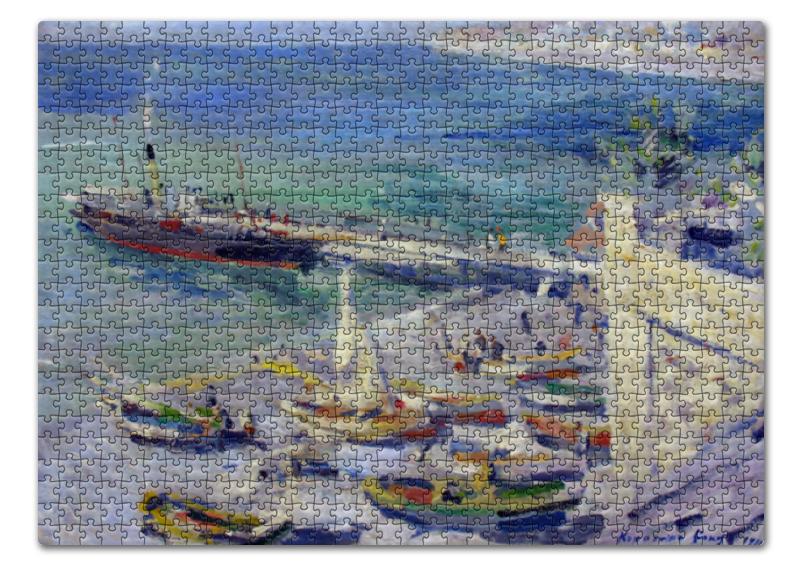 Printio Пазл 43.5×31.4 см (408 элементов) Набережная в крыму (константин коровин)